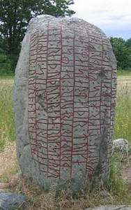 karlevi runestone in courtly metre